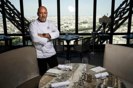 Virus won't stop Eiffel Tower restaurant, says top French chef