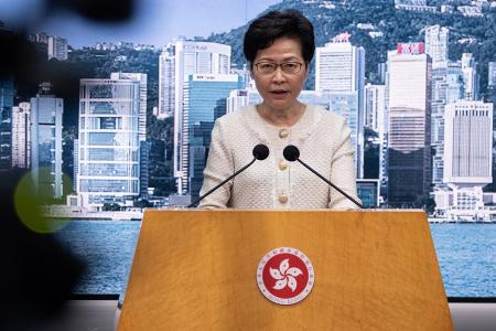 New security law does not spell 'doom and gloom' for HK: Lam