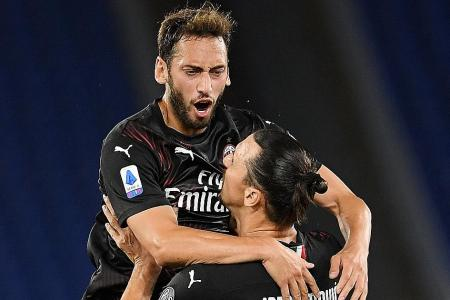 Ibrahimovic still inspires at 38, says Milan teammate Calhanoglu