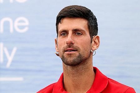Novak Djokovic accuses critics of 'witch hunt'