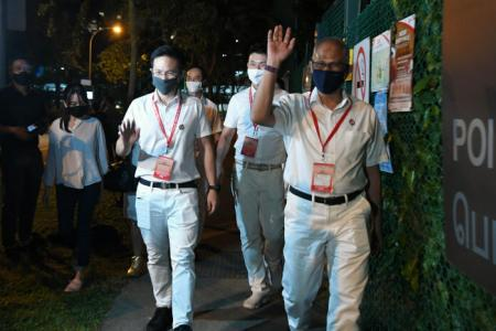 PAP team helmed by Masagos retains Tampines GRC
