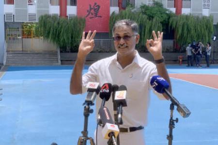 PAP's Murali beats SDP chief Chee in Bukit Batok SMC
