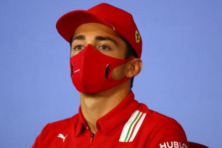Ferrari's Leclerc apologises for collision with teammate Vettel