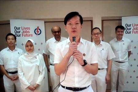 Tharman explains Ivan Lim's presence on livestream after PAP win