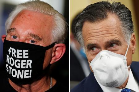Mitt Romney slams Trump for commuting Roger Stone's prison sentence