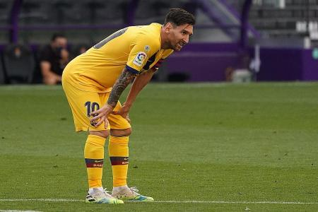 Barcelona's struggles down to five-subs rule: Luis Garcia