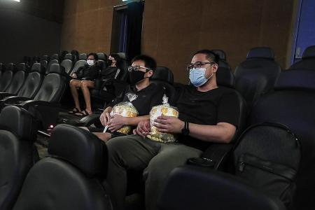 No crowds as cinemas reopen after nearly four months
