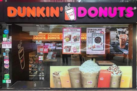 Dunkin' Donuts to close 450 US stores, Singapore outlets unaffected