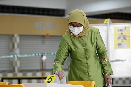 All hands needed on deck to meet challenges ahead: Halimah