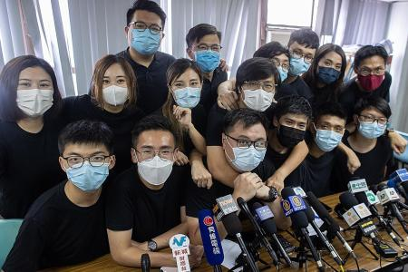 Defiant Hong Kong youngsters get most votes in weekend primary