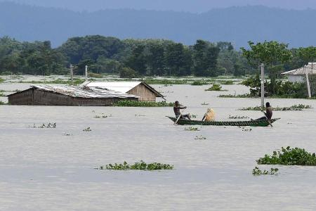 Floods ravage eastern India as infections near one million