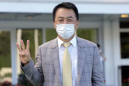 Congrats, Ricky, Yiu've done it