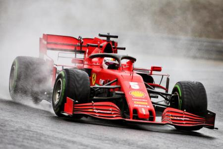 Vettel shows mettle to lift Ferrari in second practice of Hungarian GP