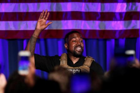 Tearful Kanye West launches presidential campaign with rambling rally