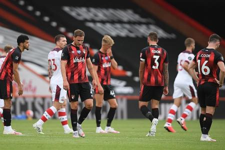 Bournemouth on the verge of relegation after Southampton loss