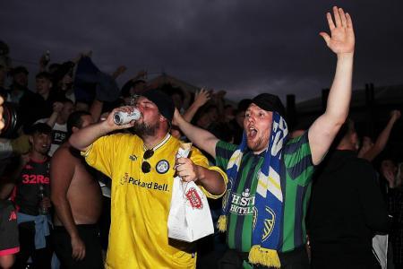 Leeds United targeting Champions League return