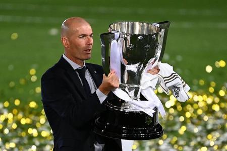Zinedine Zidane casts doubt over Real Madrid future