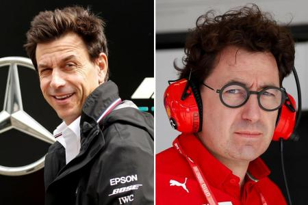 Mercedes boss Toto Wolff rubbishes Ferrari's renewed engine claims