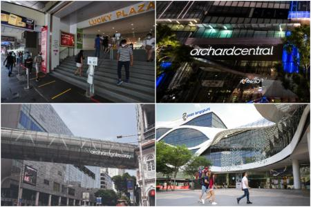 More malls in Orchard Road added to list visited by coronavirus patients