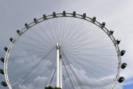 Singapore Flyer to reopen tomorrow with safety measures