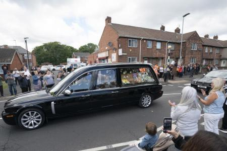 Thousands flock to the streets to bid Jack Charlton farewell