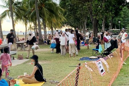 Crowded beaches, other lapses prompt step-up in enforcement efforts