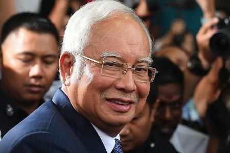 Verdict in Najib's first corruption trial out tomorrow