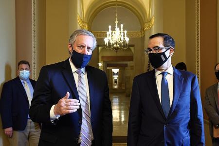 Trump aides, Senate Republicans agree on $1.3 trillion virus package
