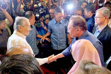 Anwar now realises he was duped by Mahathir