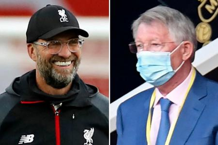 Fergie congratulates Klopp for winning Manager of the Year award