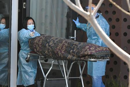 Melbourne deploys disaster teams to virus-hit elderly homes