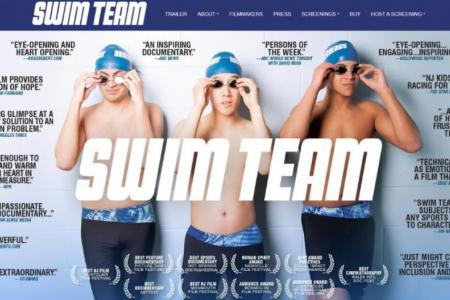 Watch inspirational film Swim Team for free