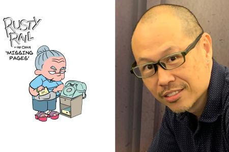 New comic series based on growing up in Singapore in the 1980s