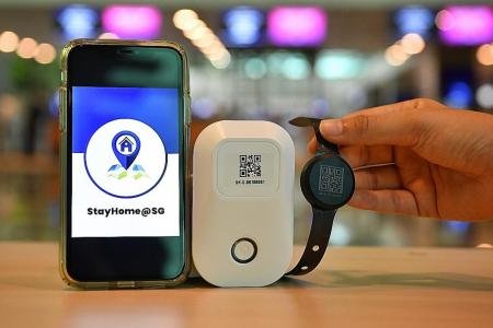 Travellers to Singapore must wear tracking device while on SHN