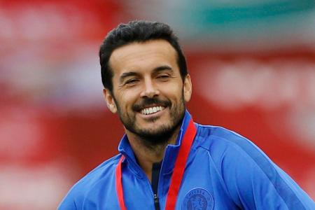 Pedro Rodriguez bids Chelsea farewell after surgery