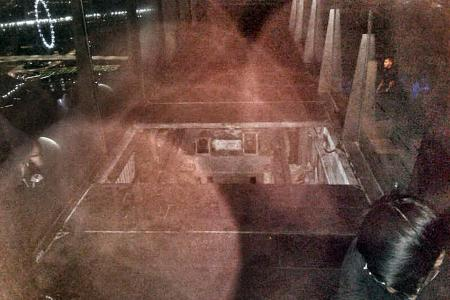 Pit which security officer fell into was left exposed by workers