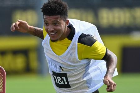 Sancho off for Dortmund's pre-season camp amid transfer speculation