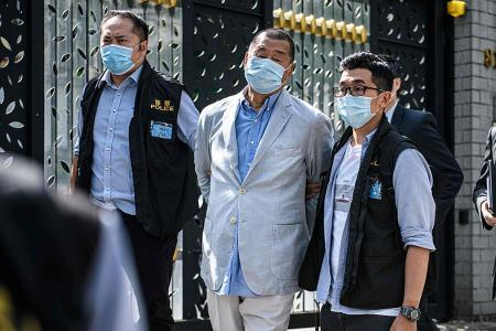 HK media tycoon Jimmy Lai arrested under new national security law