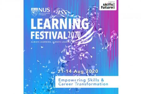 NUS-ISS Virtual Learning Festival to help career transition