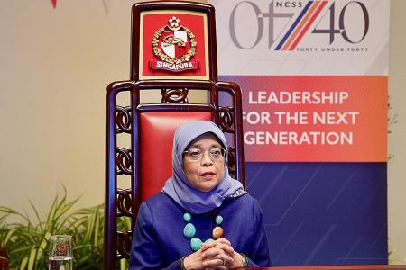 Social sector leaders must be bold and innovative: Halimah