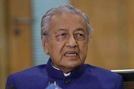 Former Prime Minister Mahathir Mohamad Pejuang