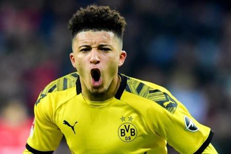 United target Sancho is 'happy' at Dortmund