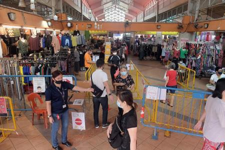 Business brisk as restrictions lifted at four popular wet markets