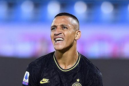 Alexis Sanchez injury worry ahead of Inter's Europa League semi-final