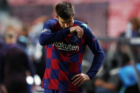 Barca star Gerard Pique: We have hit rock-bottom