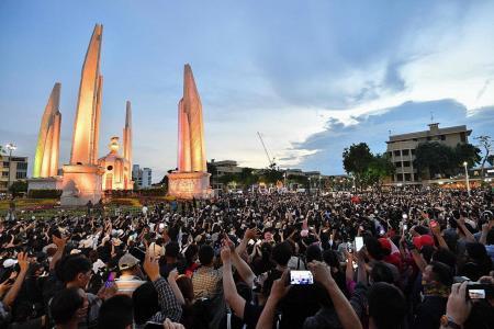 Thousands in Bangkok demand major reforms