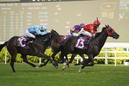 Aramaayo lands $1m Kranji Mile in style