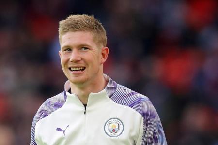 Man City midfielder Kevin de Bruyne named EPL Player of the Season
