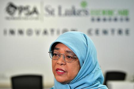 Extension of JSS may help to avoid spike in layoffs: Halimah