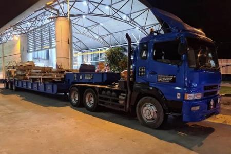 5,000 cartons of duty-unpaid cigarettes hidden beneath lorry seized